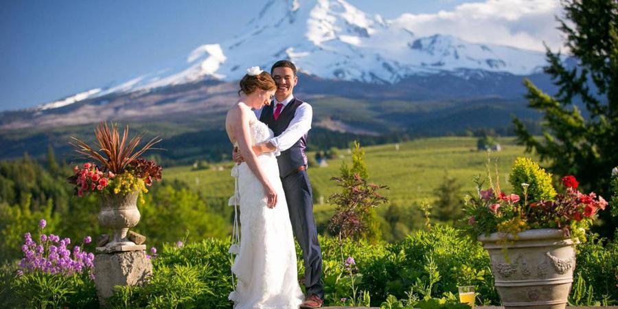 Mt Hood Organic Farms wedding Mt. Hood
