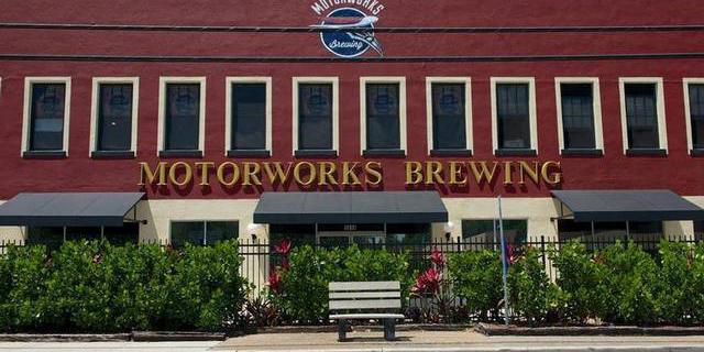 Motorworks Brewing wedding Tampa