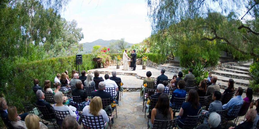Saddle Peak Lodge wedding Los Angeles