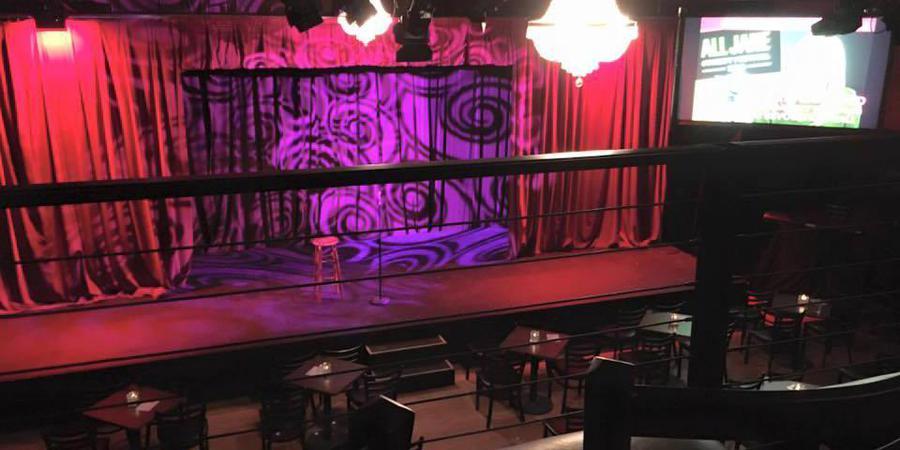 Curious Comedy Theater wedding Portland