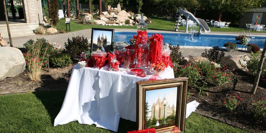 The Uintah Estate wedding Salt Lake City
