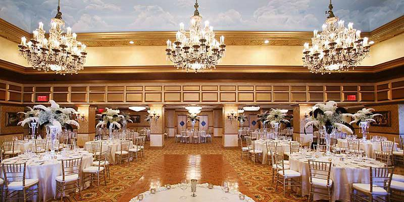 The Claridge Hotel wedding Atlantic City