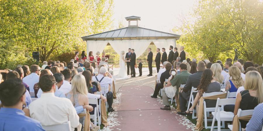 Waters Edge Event Center wedding Idaho