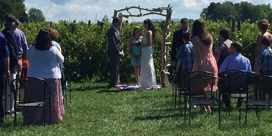 Crescent Bay Bed Breakfast wedding Vermont