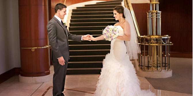 InterContinental Cleveland Hotel wedding Cleveland