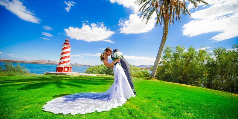 The Nautical Beachfront Resort wedding Western Arizona