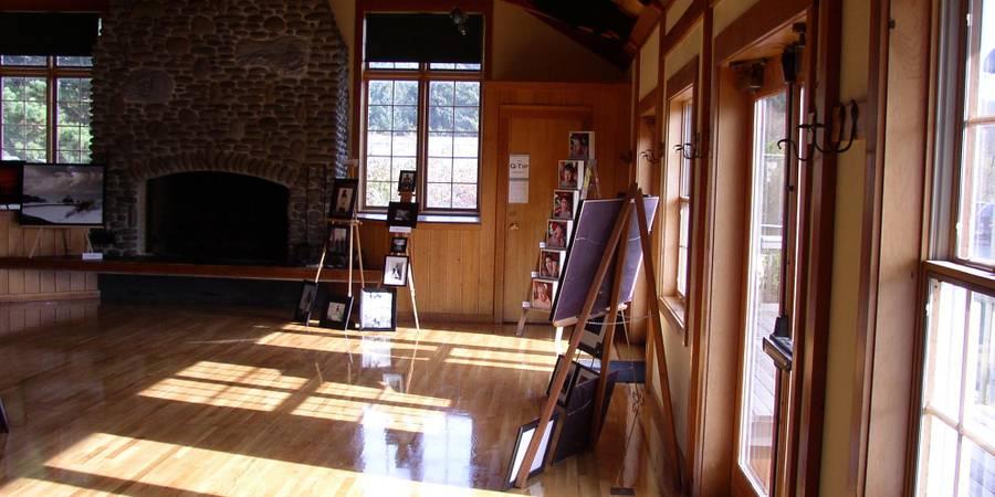 Cannon Beach Community Hall wedding Coastal Oregon