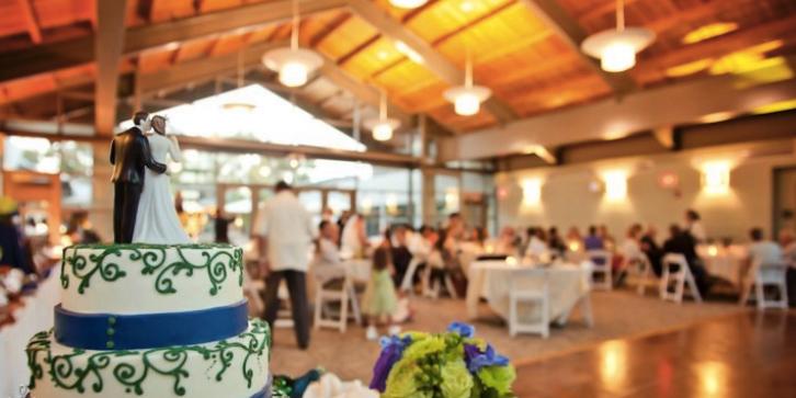 The Ida and Cecil Green Faculty Club at UC San Diego wedding San Diego