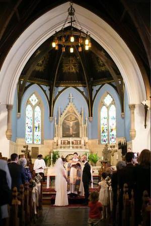 St. Mary's, Hamilton Village wedding Philadelphia