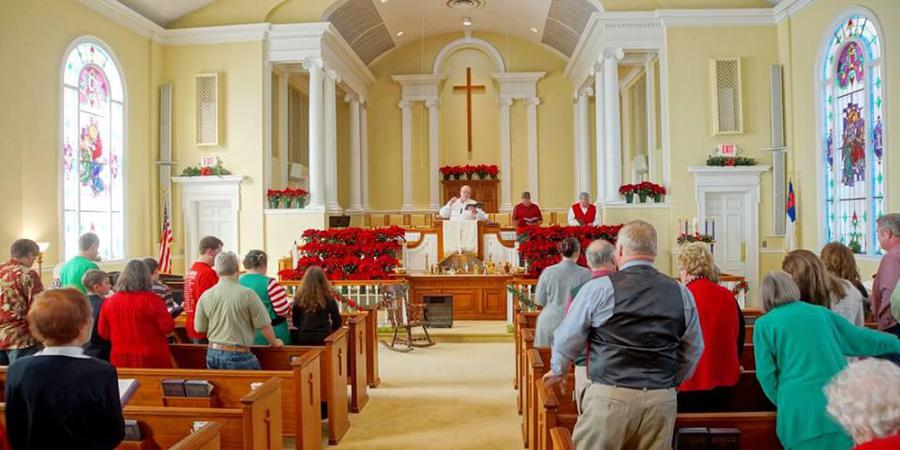 Winder First United Methodist Church wedding Atlanta