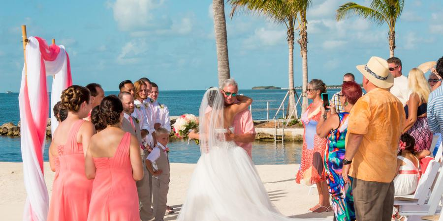 Courtyard Marathon Florida Keys wedding Florida Keys