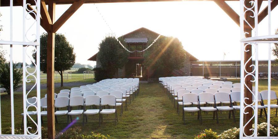 Fossil Creek Ranch wedding Oklahoma City