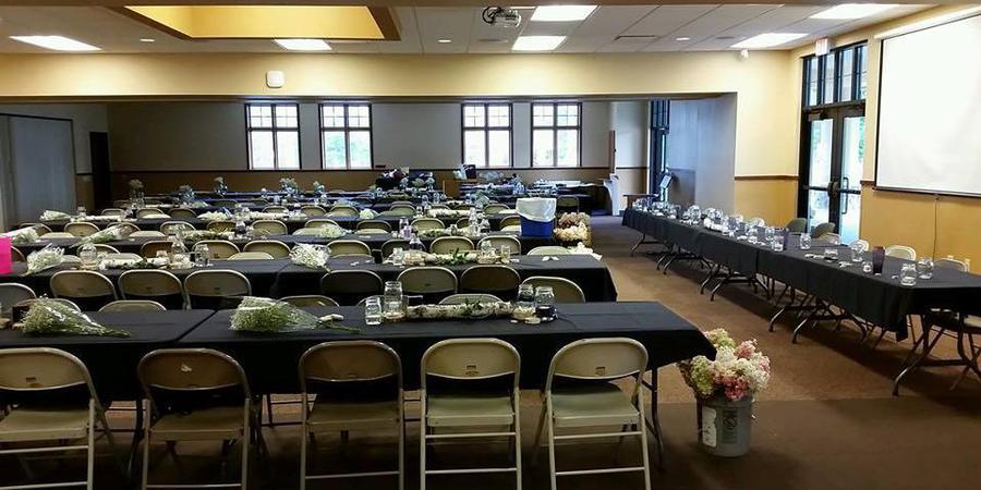 Boulder Junction Community Center wedding Wausau