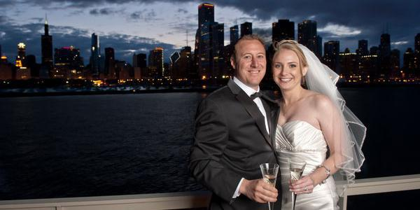 Luxury Wedding Yacht Valara wedding Chicago