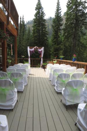 Cornucopia Lodge wedding Eastern Oregon