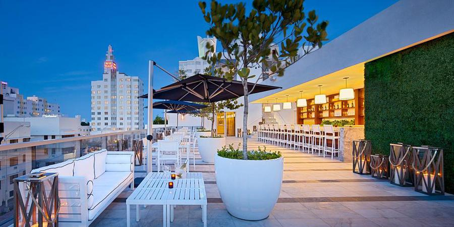 The Gale Rooftop wedding Miami
