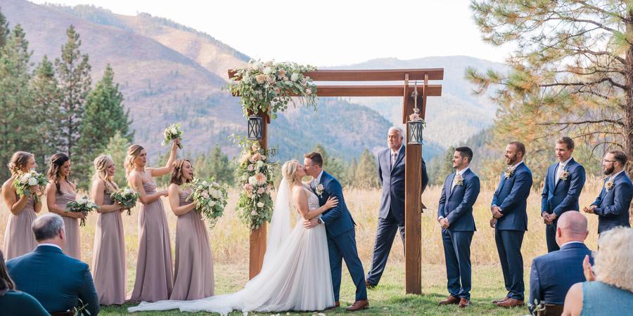 White Raven wedding Montana
