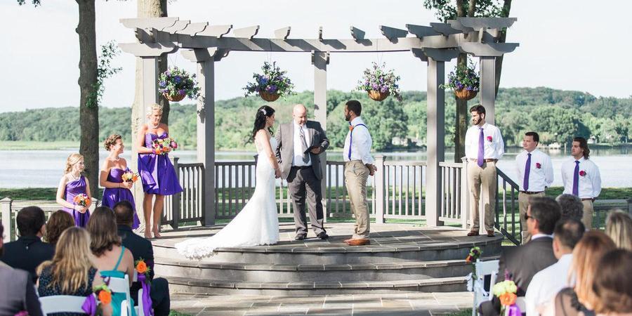 The Osprey's at Belmont Bay wedding Northern Virginia