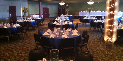 Off Broadway Banquet Center wedding Eau Claire