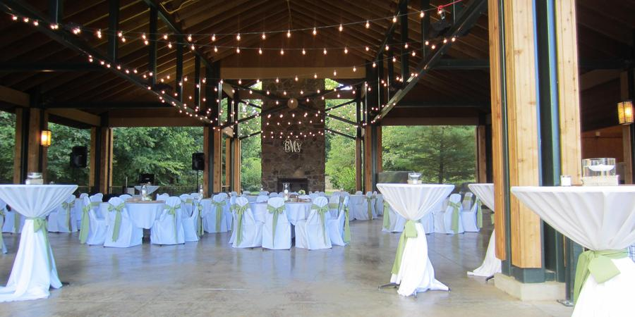 Lichterman Nature Center wedding Memphis