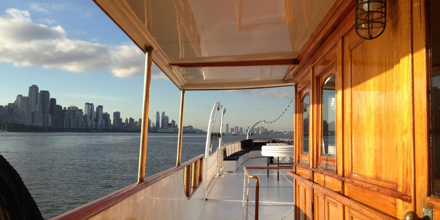 The Mariner III wedding Manhattan