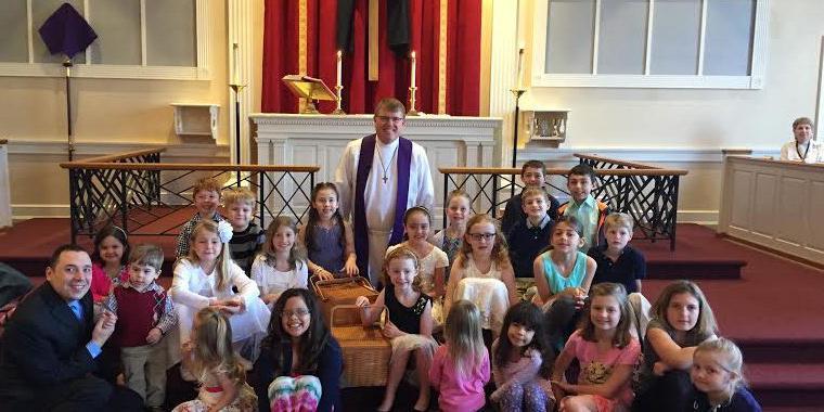 Holy Trinity Lutheran Church wedding Northern Virginia