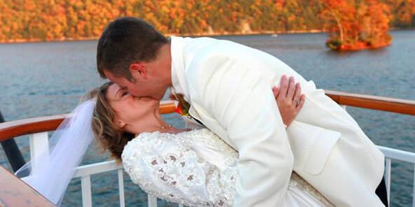 Virginia Dare Cruises wedding Southwest Virginia