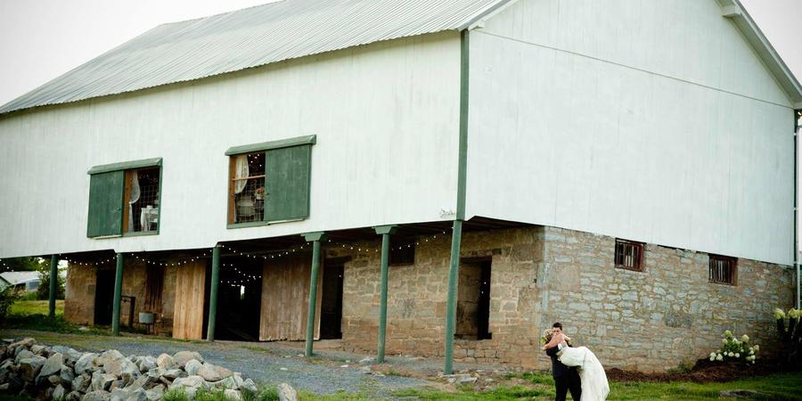 Cloverdale Barn wedding Northern Virginia