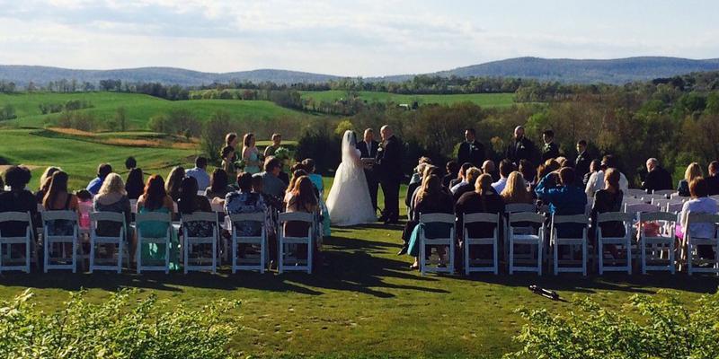 Maryland National Golf Club wedding Frederick