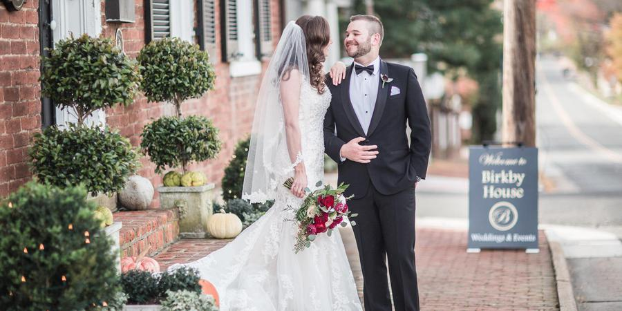 Birkby House wedding Northern Virginia