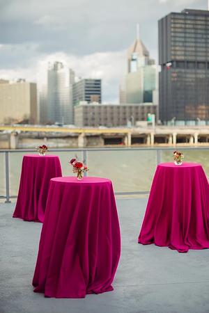 High Mark Stadium wedding Pittsburgh