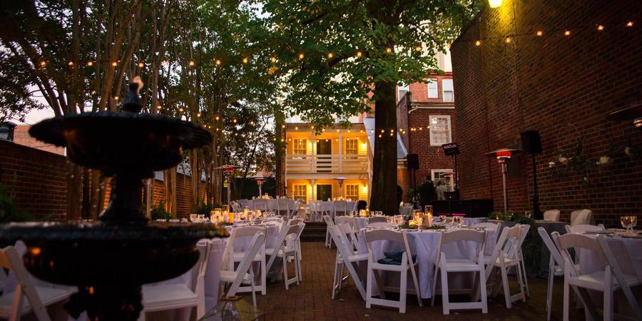 Linden Row Inn wedding Richmond