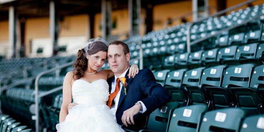 Fluor Field at The West End wedding Greenville