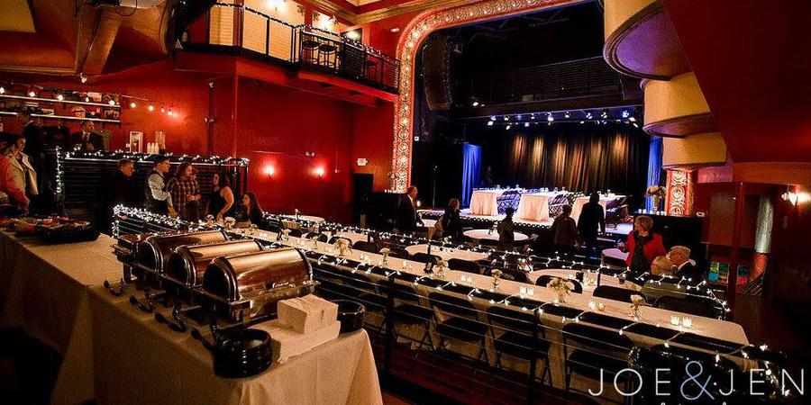 Majestic Theatre wedding Madison