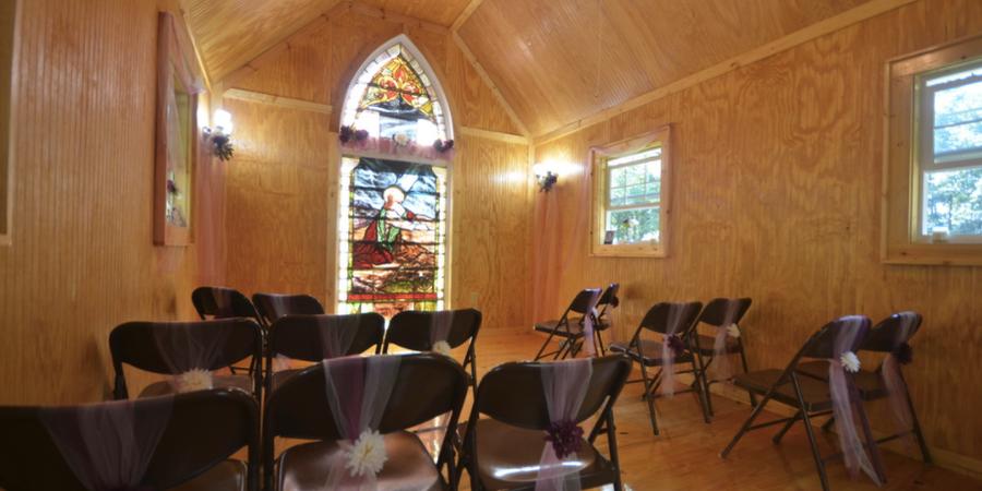 Cherokee Wedding Chapel wedding Asheville