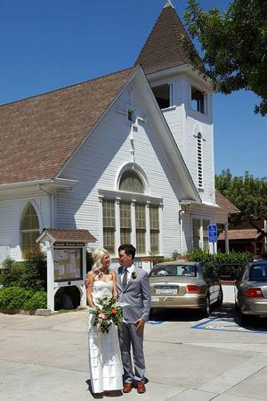 Lakeside Historical Society wedding San Diego