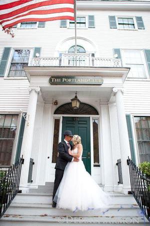 The Portland Club wedding Maine