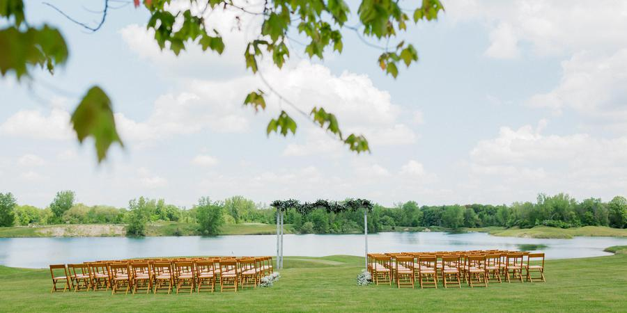 Bucks Run Golf Club wedding Lansing