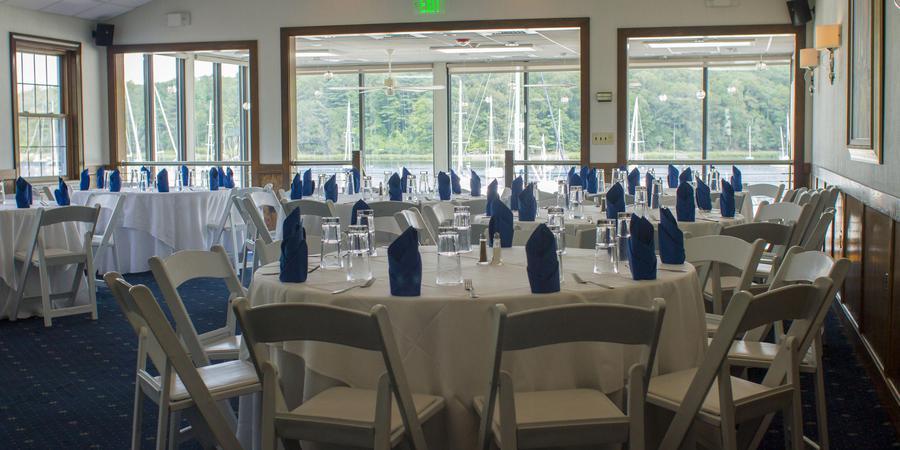 Blu on the Water wedding Coastal Rhode Island