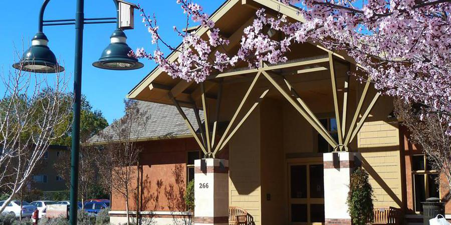 Mountain View Senior Center wedding South Bay