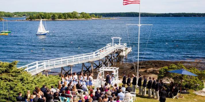 Linekin Bay Resort wedding Maine