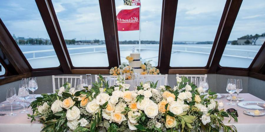 Wedding on the Bay by Watermark - Catherine Marie wedding Annapolis