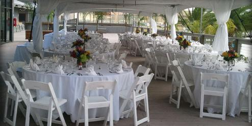The Dock Bar & Grill wedding Mississippi