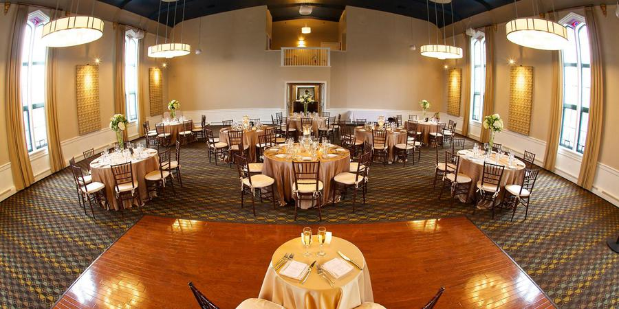 Steeple Hall at Mission Oak Grill wedding North Shore