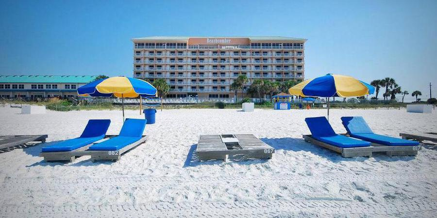 Gulf-front Green or Banquet Room at Beachcomber wedding Northwest Florida