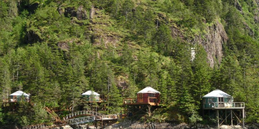 Orca Island Cabins wedding Alaska