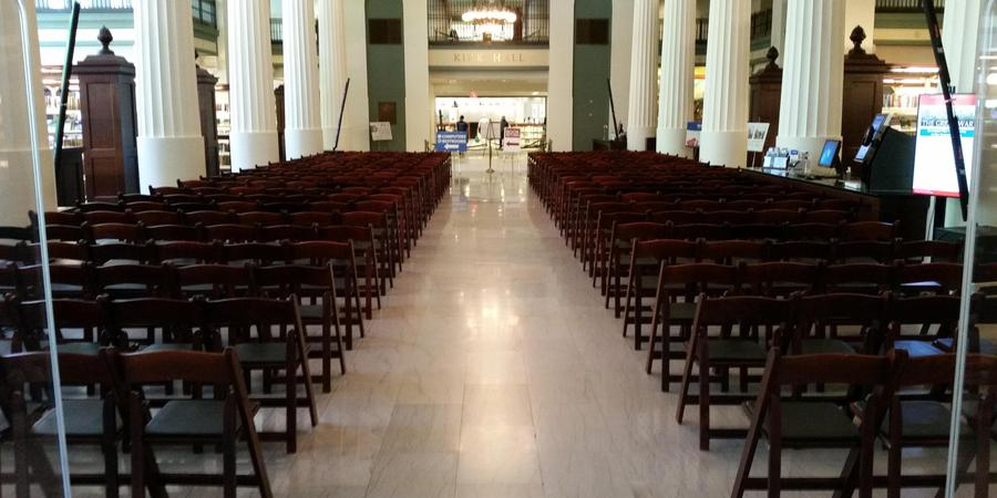 The Kansas City Public Library wedding Kansas City