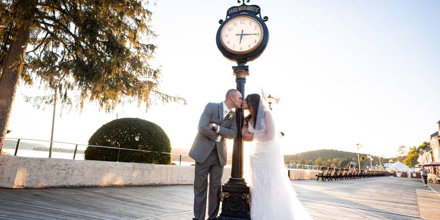 Lake Mohawk Country Club wedding North Jersey