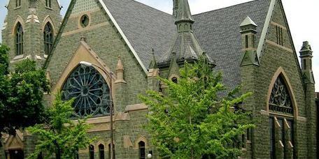 Broad Street United Methodist Church wedding Columbus