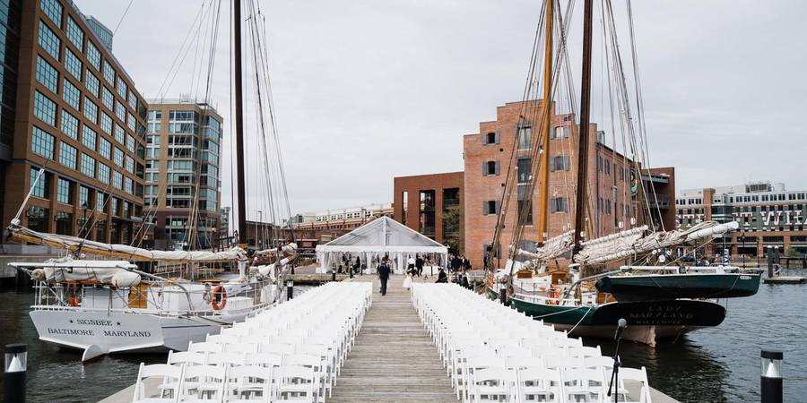 Frederick Douglass - Isaac Myers Maritime Park wedding Baltimore